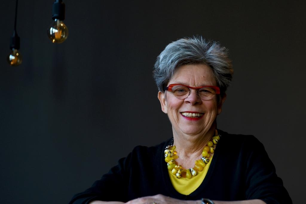 De afscheid nemende Miep Boerkamp is sinds 1990 betrokken bij het theater. Eerst als programmeur, daarna als directeur.  (Foto: Anneke Beumer) © rodi