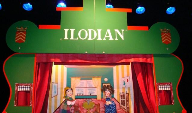 Mister Geraldi treedt op met poppentheater Ilodian in de meivakantie.