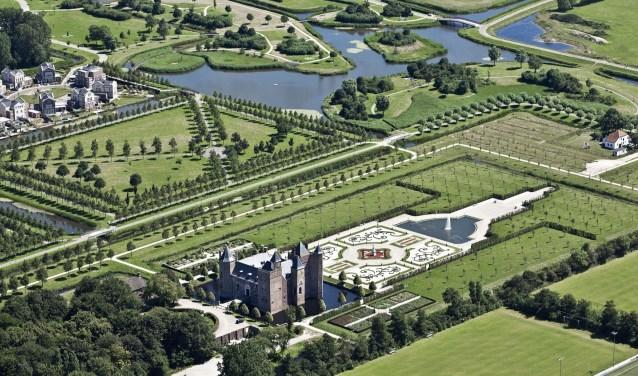Locatie Slot Assumburg met Kasteeltuin.