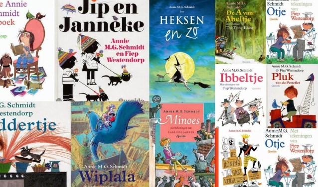Talloze kinderen zijn voorgelezen uit de boeken van Annie M.G. Schmidt.