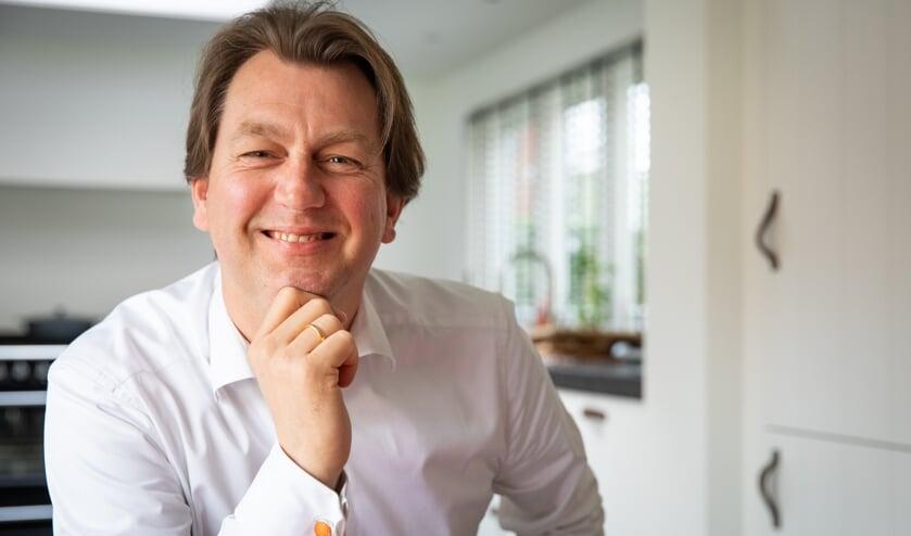 Jelle de Boer, voorzitter van Oranjevereniging Bergen is trots op het programma op Koningsdag.