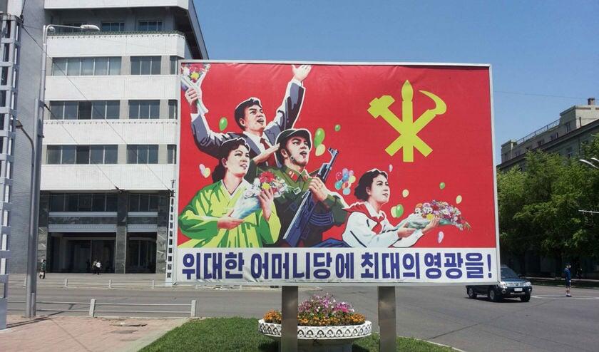 Kunst in Noord-Korea.