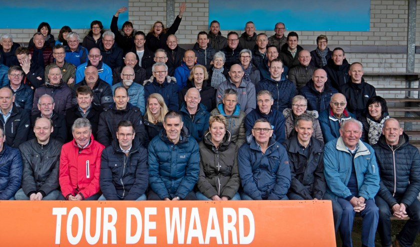 Bestuur en vrijwilligers van Tour de Waard kijken uit naar de jubileumeditie die deze zomer plaatsvindt.