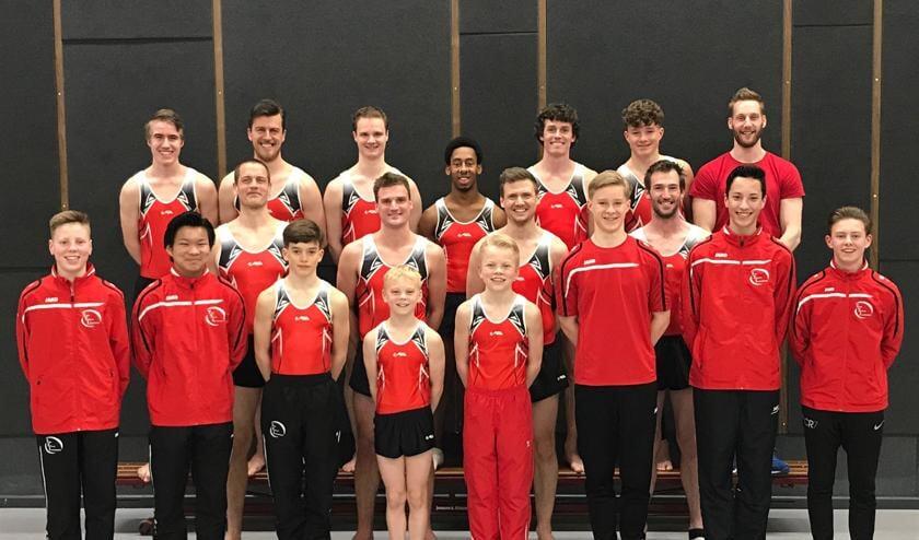 Goud bij NK Clubteams trampoline voor de junioren en senioren A