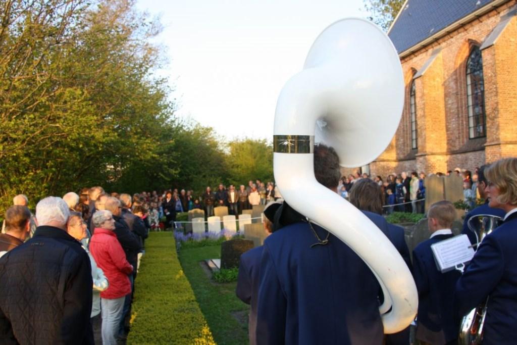 Naast 't Kerkhuys worden oorlogslachtoffers herdacht. (Foto: aangeleverd) © rodi