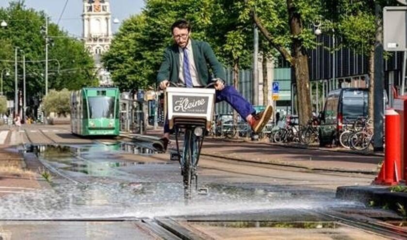 Fietsstad Amsterdam.