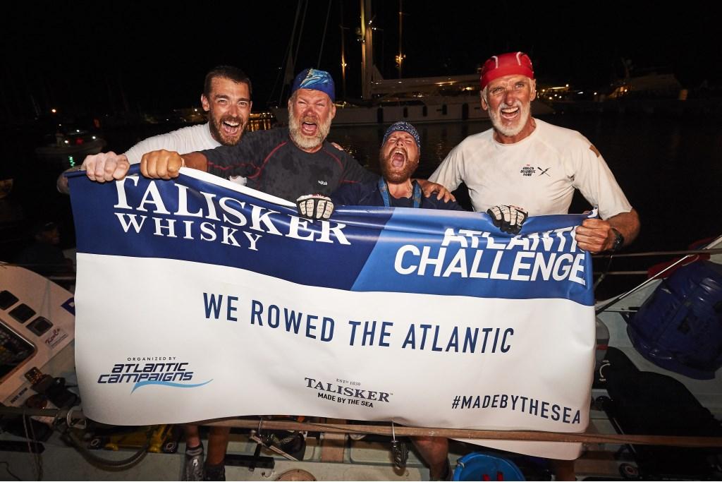 Wat zijn de vier mannen trots en blij!  © rodi