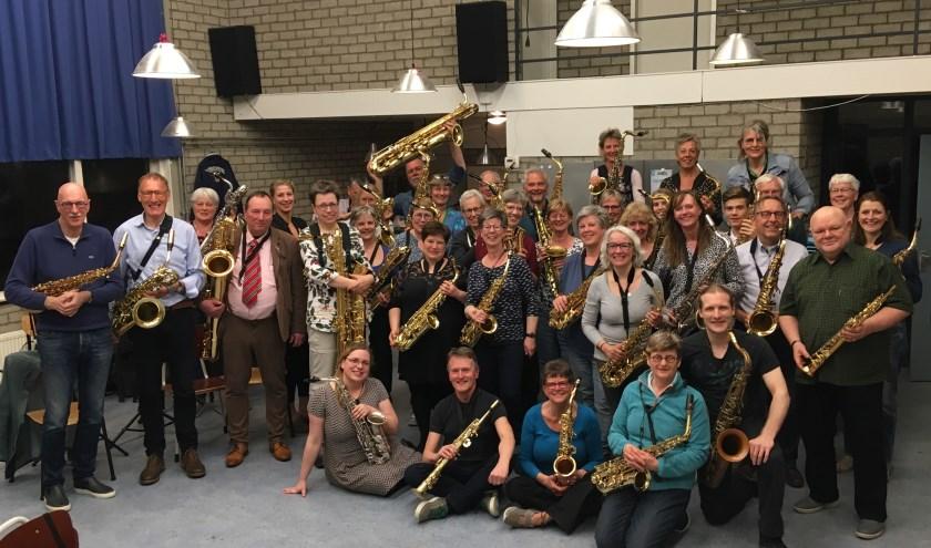 Het Sax&Zo Project Orkest.