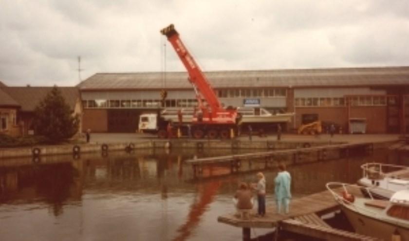 De Werf in Broek, een foto uit het roemrijke archief.