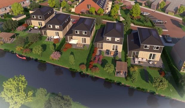 Vrijstaand wonen aan het water in De Rijp.