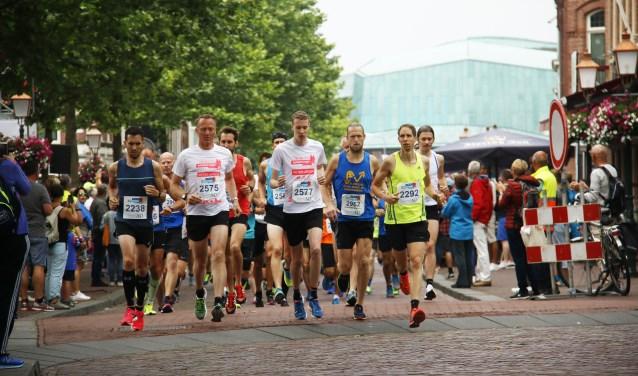 De organisatie verwacht ongeveer tweeduizend deelnemers aan de start.