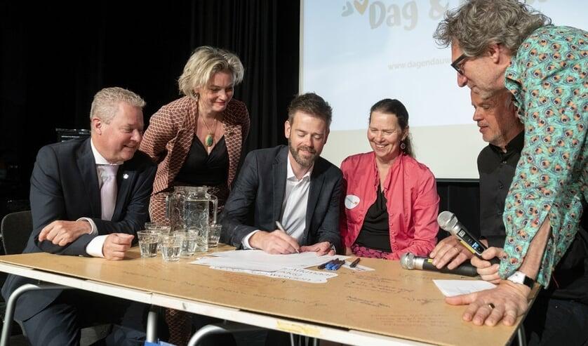 Ondertekening intentieverklaring 'Age friendly cultural city'