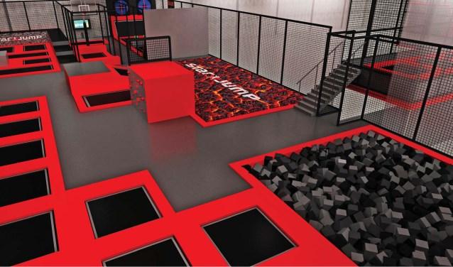 Indoor trampolinepark STARJUMP.