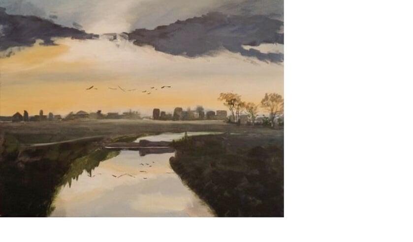 Kunstwerk van Olga Beijer.