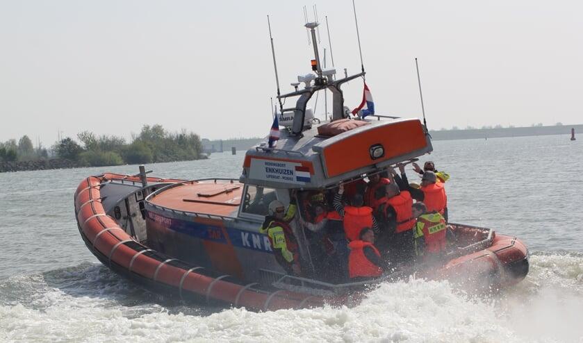 Reddingbootdag KNRM in Enkhuizen.
