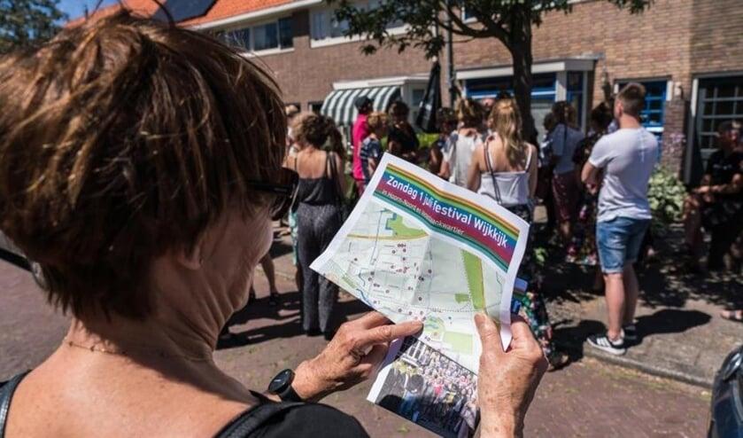 Tijdens het Wijkfestival laten wijkbewoners zich van hun artistieke en creatieve kant zien.