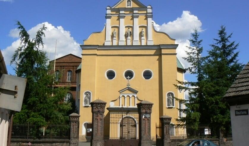 Het Franciscanenklooster in Wronki.
