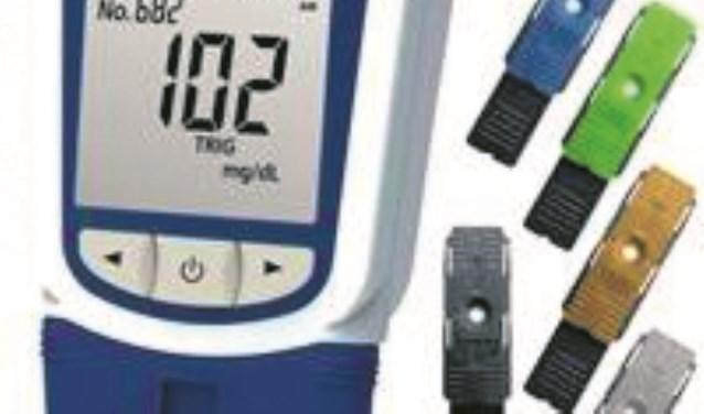 Meet het cholesterolgehalte bij Etos Française.