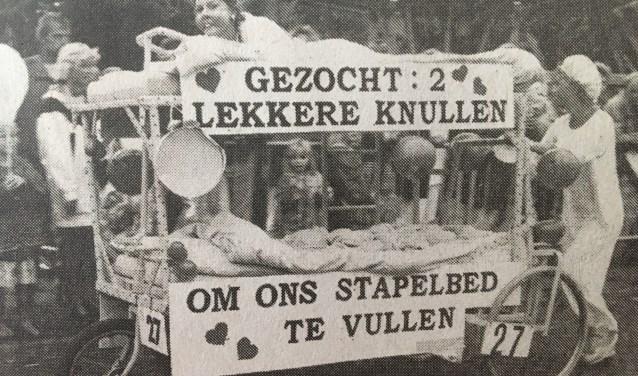 Uit het archief van Beddenrace Langedijk.