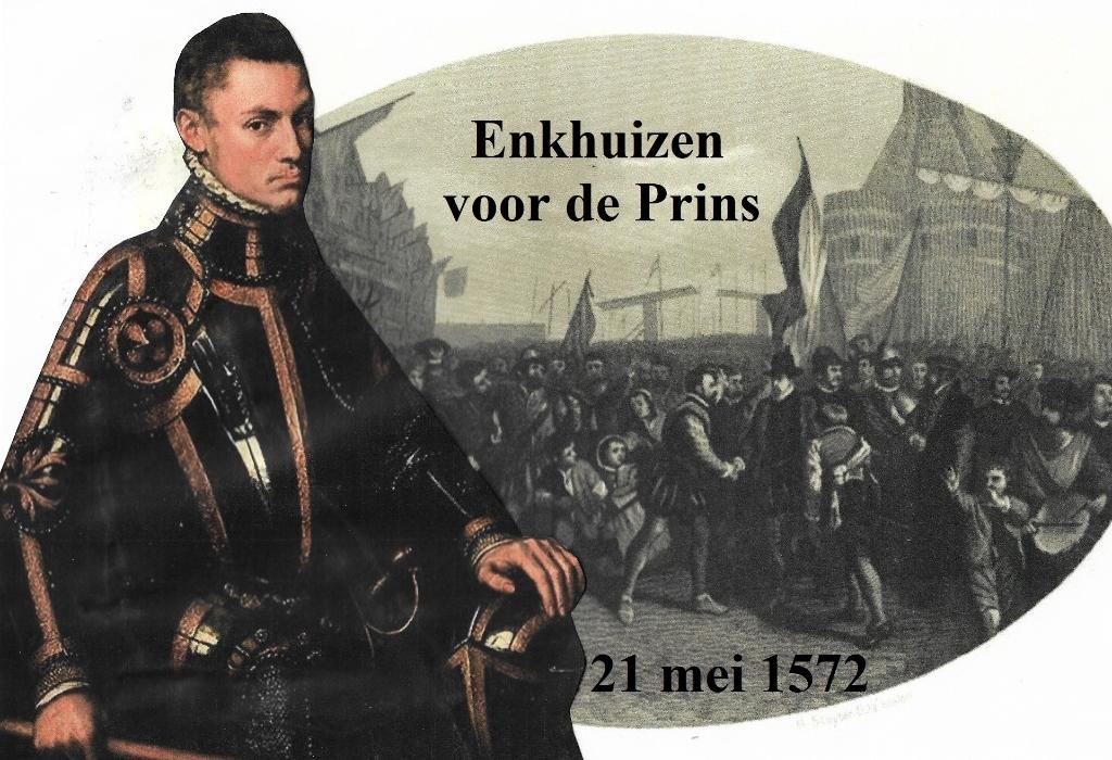 Enkhuizen kiest partij voor de Prins. (Foto: Aangeleverd) © rodi