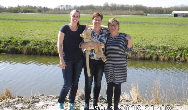 Team Job: Annette Verver (moeder van Job), Esther Roosendaal en Irene de Jong.