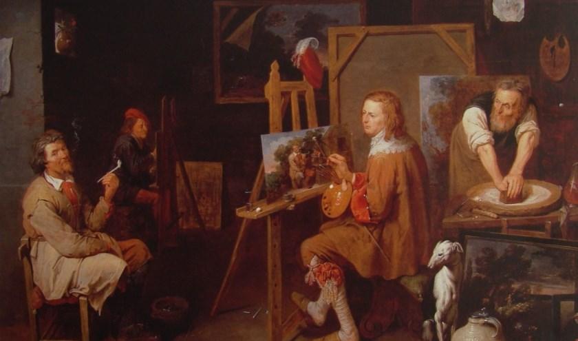 Tegenwoordig worden voor de schilderijen van de meesters uit de Gouden Eeuw grote bedragen betaald.