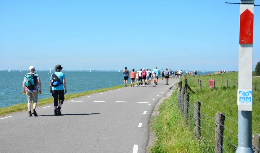 De 40MM: een prachtige tocht door West-Friesland en over de IJsselmeerdijk.