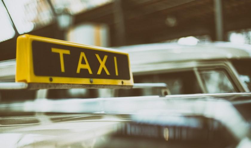 Een taxi.