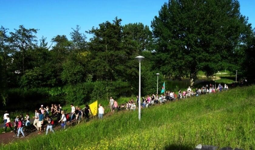 Wandelvierdaagse door Noord.