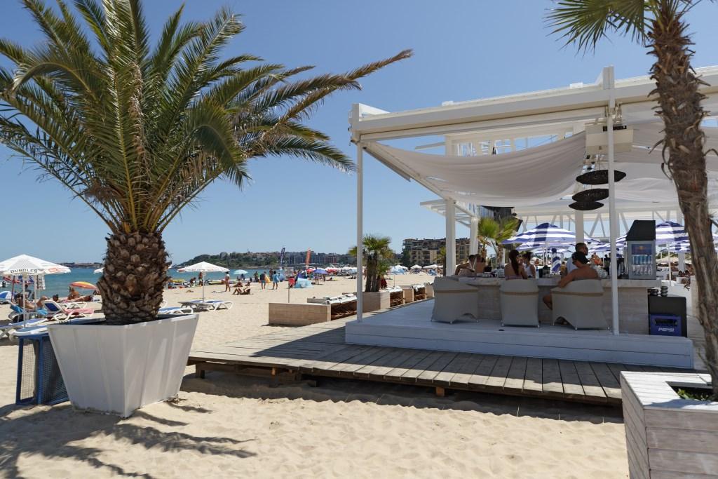 Sunny Beach, ook wel bekend als zonnestrand.  © rodi