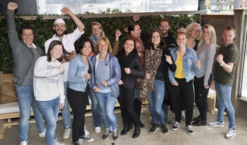 Team Oog op Food Festival Callantsoog