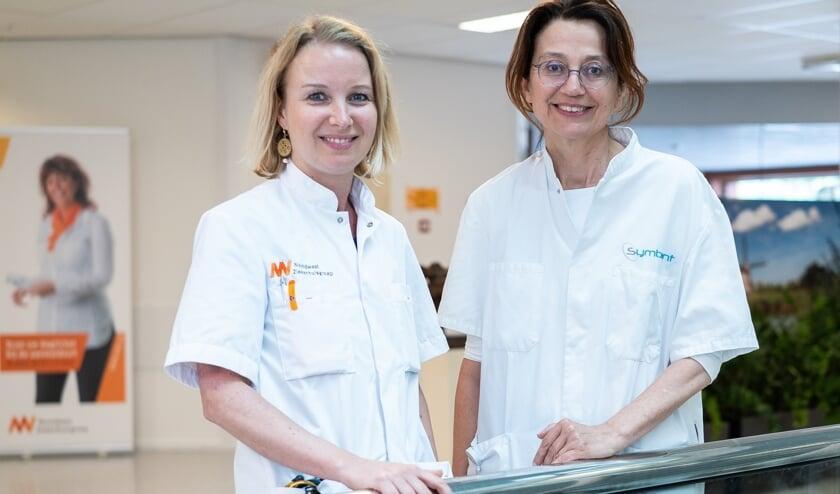 Longarts Nicole Barlo en patholoog Nelly Breeuwsma