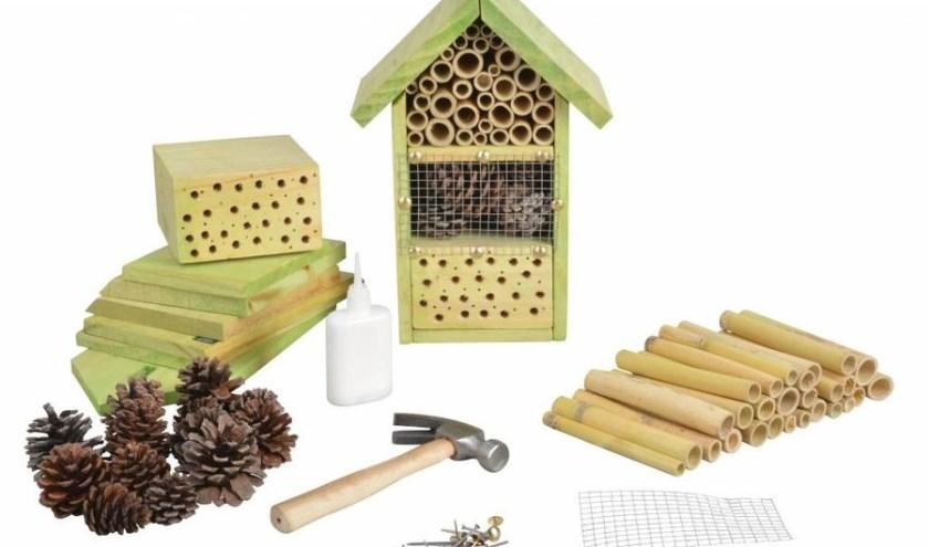 Kom 26 juni naar de Baak voor het maken van een insectenhotel.