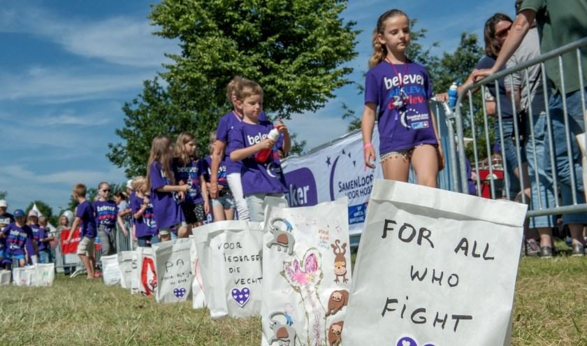 Voor (deelnemende) kinderen is er een speciale Kinderloop.
