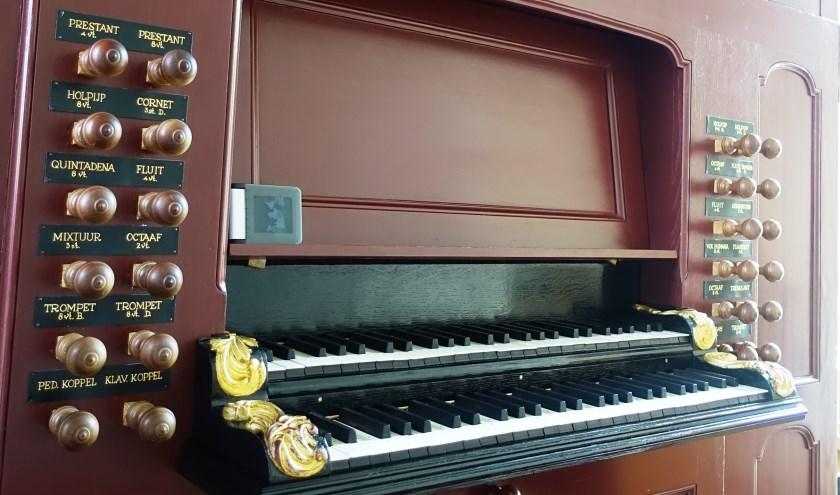 Het gerestaureerde orgel van de Bloemendaalse Dorpskerk kan weer bespeeld worden.