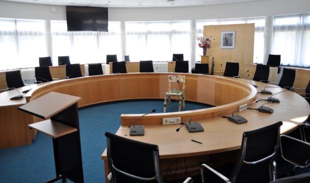 <p>De raadszaal van de gemeente Schagen.</p>