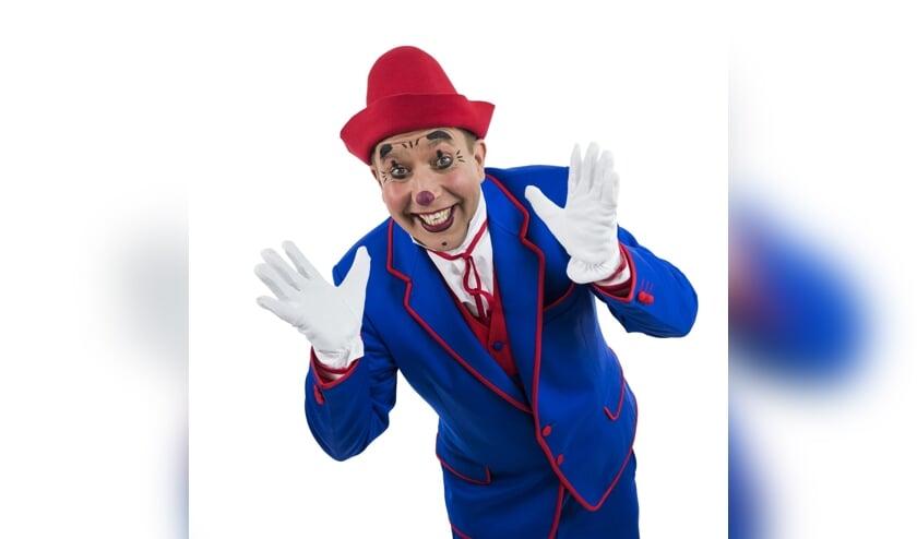 Clown Frenky bij Circus Alexander.
