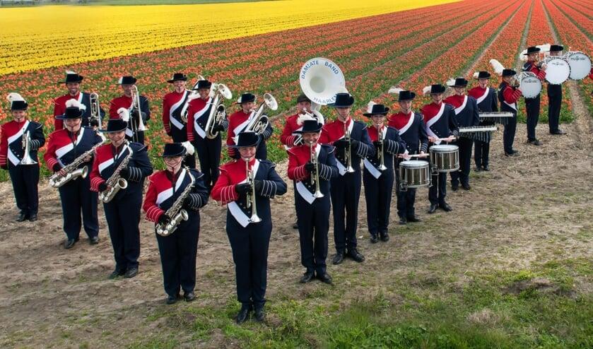 De Haarlem Damiate Band helpt mede fanfareleden graag uit de brand.