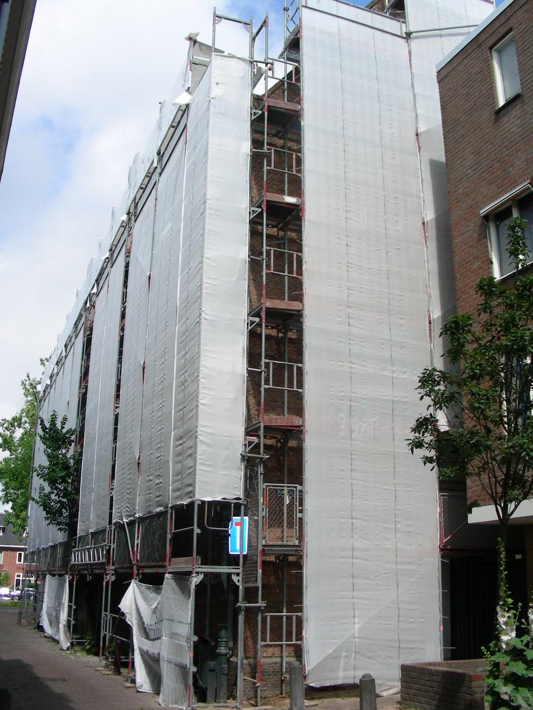 De restauratie staat gepland tot eind augustus dit jaar.  © rodi