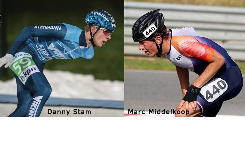 Danny Stam (l) en Marc Middelkoop.