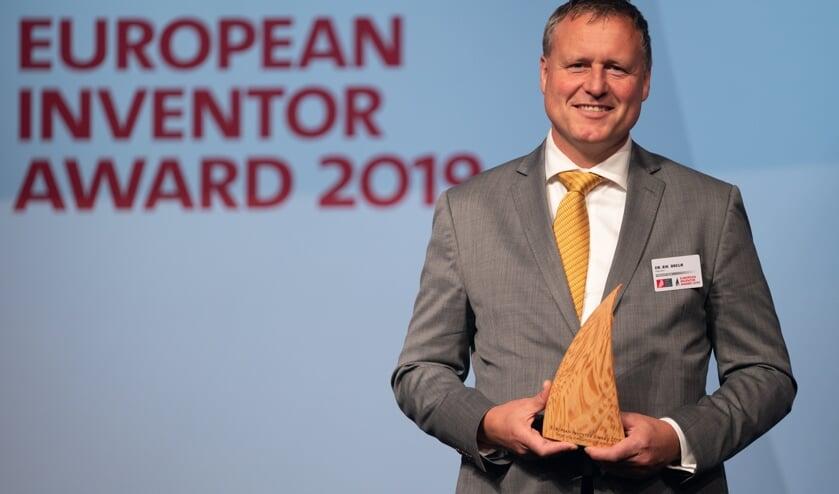 De Europese Award is binnen voor Hoofddorper Rik Breur.