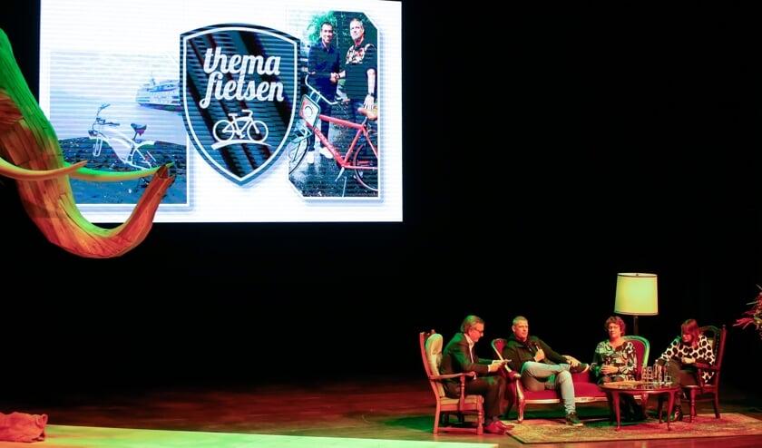 De talkshow NV Noord-Holland Noord in Hoorn.