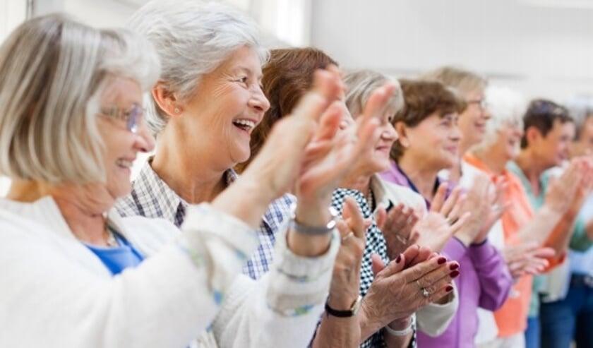 Elkaar ontmoeten, samen bewegen en leuke activiteiten ondernemen kan elke dinsdagmorgen.