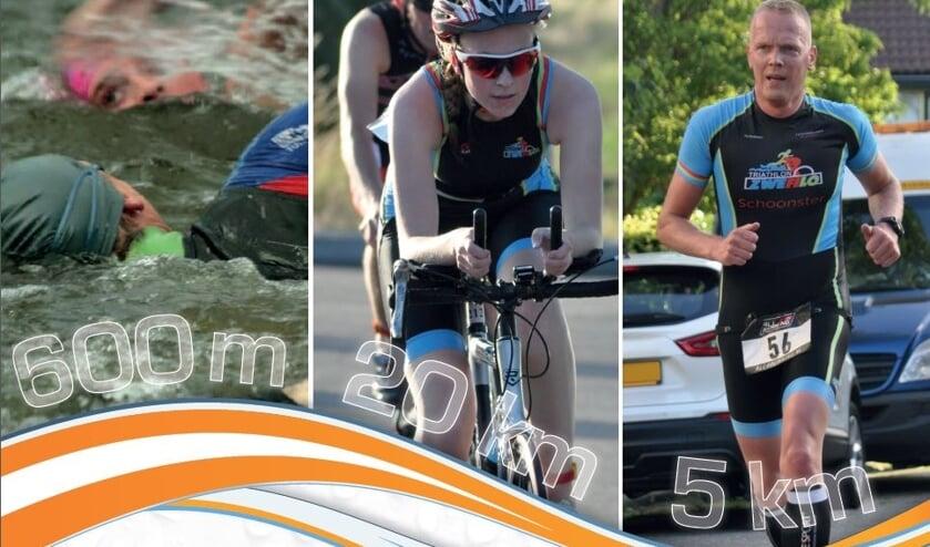 Zwemmen, fietsen en lopen: op 19 juni staat de achtste editie van de Van der Voort Groep Triathlon Langedijk op de kalender.