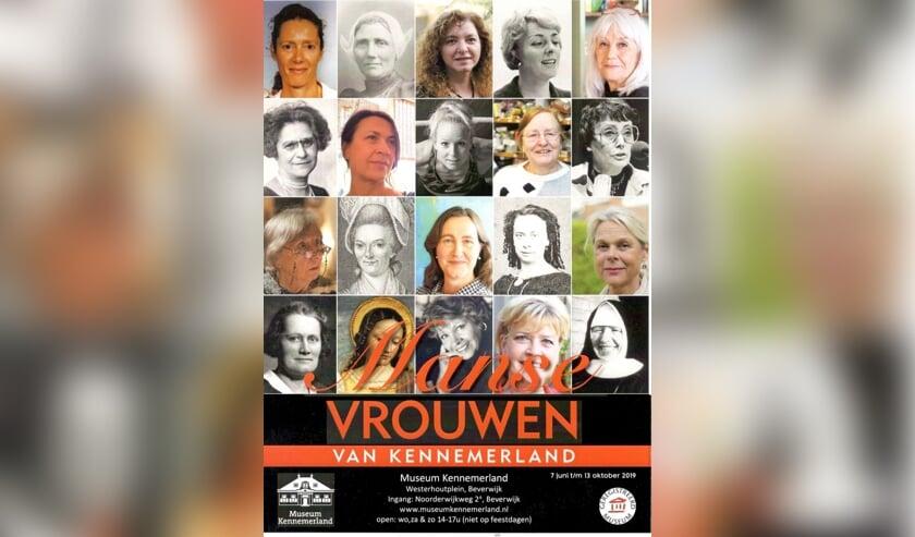 Honderd jaar na het vrouwenkiesrecht zet Museum Kennemerland de vrouw op een voetstuk.