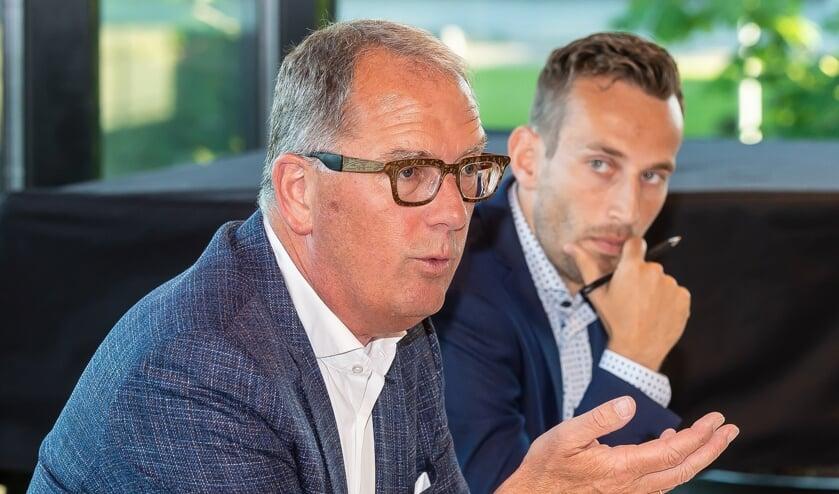 Bart Tishauser (links)