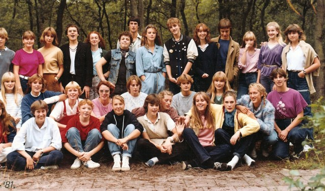 Klas '80-'81. Wie herkent u nog?