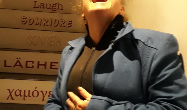 Lachen is onbetaalbaar en kan altijd. Komende zondag is er een lachsessie.