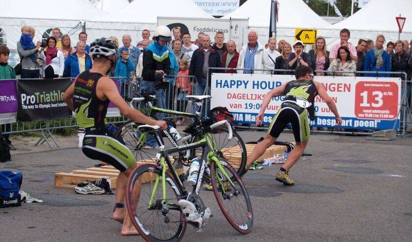 Na de fietsrondes volgt het hardloopgedeelte