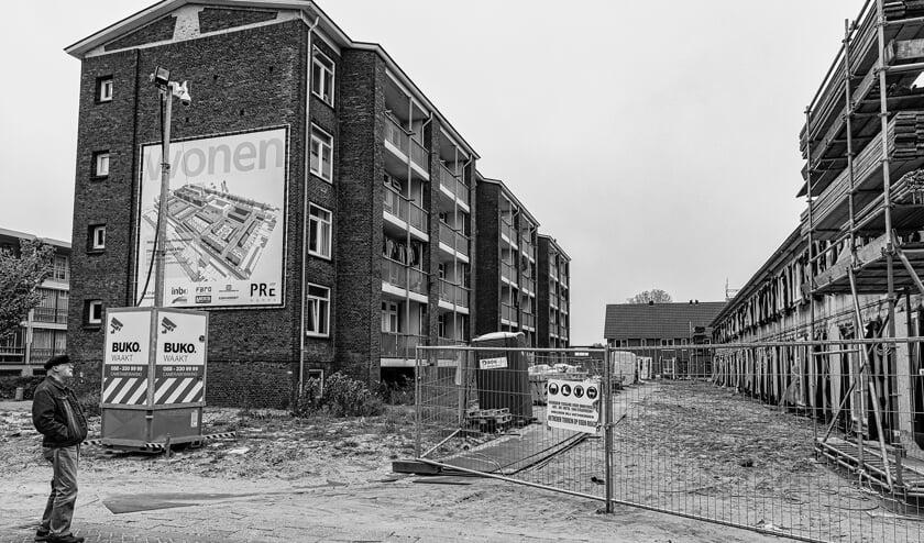 Woonwijken uit de jaren vijftig, dat is ook Beverwijk.